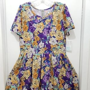 🆕️ NWT LuLaRoe Amelia Dress size 2XL (22-24)